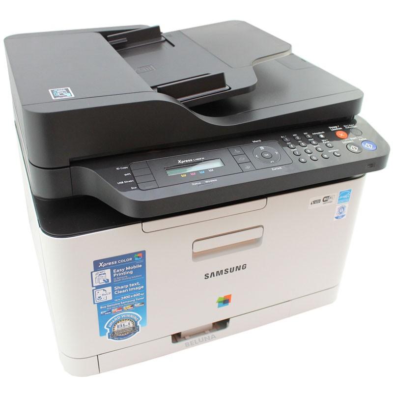 samsung xpress c480fw 4 1 multifunktions ger t farb laser fax drucker kopierer 8806086713375 ebay. Black Bedroom Furniture Sets. Home Design Ideas